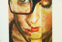 Portraits Fine art GCSE / Resources for GCSE fine art, portrait unit / by Trinity School COFE Belvedere