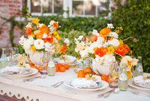 décor de table avec des fruits