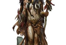 Characters / Tribal, Shamans, Native