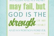 Encouraging Scriptures / by amyprikazsky