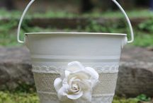Flower girl baskets -Laura