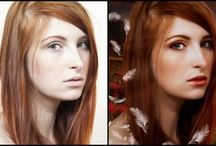 Before and After eddited Photos / Those are pics before and anfter photo editing