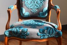 French armchair luis xv