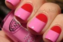 Pink and Red color block / by Sarah Rogers