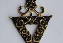 návody na šperky / šití šperků