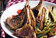 Delicious lamb dishes!