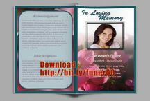 Begrafenis Programma Templates