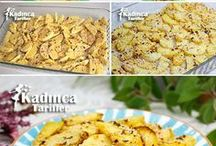 susamlı çıtır patates