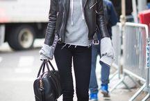 Leather Jacket Styles / Leather jacket fashion inspiration