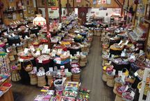 """A Look Around The Store. / In addition to our 900 plus candies, the store is adorned with lots of interesting """"stuff""""."""