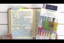 Bible Journaling / Where scripture meets writing and art