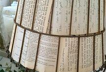 Декор из старых газет и журналов