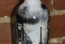 Bottles / Декорирование бутылок