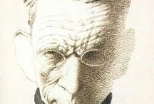 Caricature di Tullio Pericoli