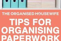 Organising paper