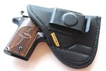 Remora Clip IWB Holster / Our inside the waistband holster is ambidextrous with removable metal clip that can be converted for right or left hand draw.