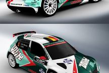 Design rally cars