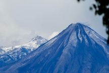 Colima Volcano by Tania Magenta / some pictures of the Colima Volcano that I took