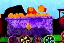 Fruit Train / Music, Kids, Wiggling, Learning, Fun, Trains, Colors, Numbers