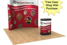 Pop-Up Displays / Our traditional pop-ups create a lasting display with laminate magnetic graphics on an expandable frame. Easy to set up and easy to transport. / by DisplayStar