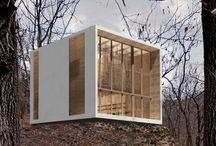Cube Eco   / re-cycle   Concept of a Zero-Impact house  Studio Architectu-re   Daniele Negri, Franz Moscati, Massimiliano Ena   See the full project at: http://www.architectu-re.it/portfolio-artico…/into-the-blue/