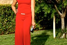 Santa Baby! M6562 & B4087 Holiday Looks / Red Holiday Jumpsuit!!! It's beginning to look a lot like Christmas!