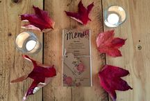 Autumn Inspiration / The Barn at Dalduff lends itself so well to Autumn colours...here are some ideas from this season!