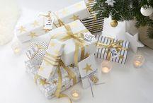 Weihnachts-Deko / Dekorationen, Geschenkverpackungen und leckere Weihnachtsrezepte