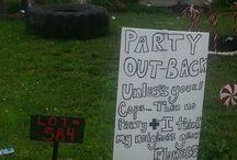 White Trash Party \m/ \m/ / by Christine Morgan
