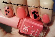 nail art / Dorina NailArt on youtube: http://www.youtube.com/user/Dorinanails :)