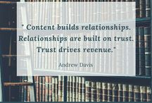 Content Marketing Tricks and Info / Content is the heart of any marketing strategy today. In order for your prospects to like your product/service, they need to love your content first. This board consists of all the actionable content marketing tips and tricks.
