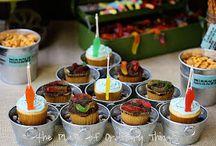 Birthday party themes / by Beth K.N.