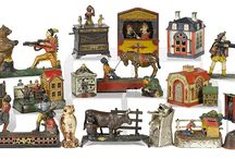 December 2nd & 3rd, 2016 - Toys, Trains, Vintage Advertising, & Carousel &Theater Fixtures Auction / Pook & Pook, Inc. has joined forces with Noel Barrett Auctioneers. Our first joint auction will be on December 2nd and 3rd, 2016.