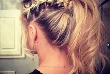 ---> HAIRSTYLES