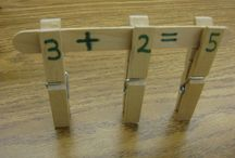 Maths Play Ideas / Math play learning activity ideas for kids. / by Emma Vanstone