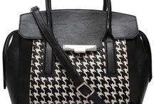 Black & white bags