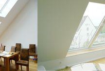Schuif-dakramen, Dachschiebefenster, slyding rooflights / Laat u inspireren door de grote verscheidenheid en bijna onbegrensde mogelijkheden van de VivaVitro schuif dakramen en daglichtsystemen voor hellende, platte daken en gevel.