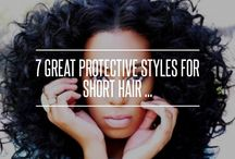 Natural Hair Style Tutorials / Tutorials and Pictorials on styling your natural curly, coily & kinky hair