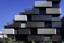Housing building