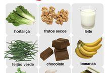 magnésio em alimentos