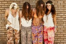 Bohemian / Effortless palazzo pants, - Bohemian inspired styles that give you a whole new reason to put some flowers in your hair.