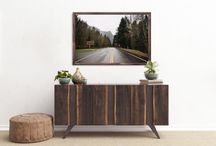 Pacific Northwest Collection On Walls