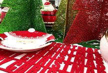 Christmas table decorations / The dinner table is at the core of Christmas celebrations. So, make sure to dress it with stunning and unique decorations. For more information, please visit: http://www.festive.co.uk/