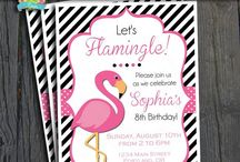 Flamingo Pary | THEME / #partyinvite #ForeverYourPrints #FYP #4EverYourPrints #PartyTheme #PartyIdeas #Inspiration #Printables #PartyPrintable #Birthday #BirthdayInvites #BabyShower #BabyShowerInvites #Flamingo / by Forever Your Prints