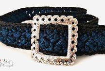 Crochet belts / Handmade crochet belts