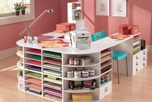 ORGANIZING YOUR CRAFT SPACE / It is about how the ideal crafter's place look like.