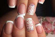 Wedding nail art idees