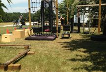 Obstacle course / Hindernisbaan