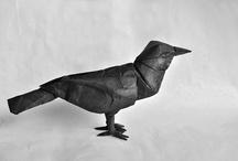 origami crow