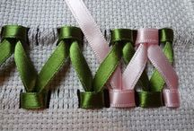 вишивка стрічками